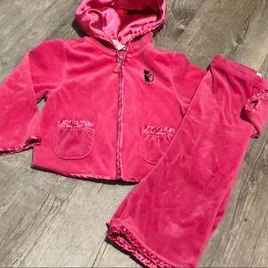2 Pc. Gymboree Velour Pants Jacket 3T